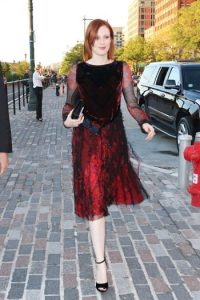 Y aún es considerada ícono de la moda. Foto:vía Getty Images