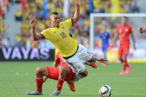 En un duelo muy disputado, Colombia supo cómo superar la defensa peruana y conseguir la victoria por 2-0. Foto:Getty Images