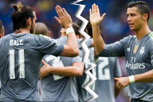 La relación entre Gareth Bale y Cristiano Ronaldo nunca ha sido la mejor. Foto:Getty Images