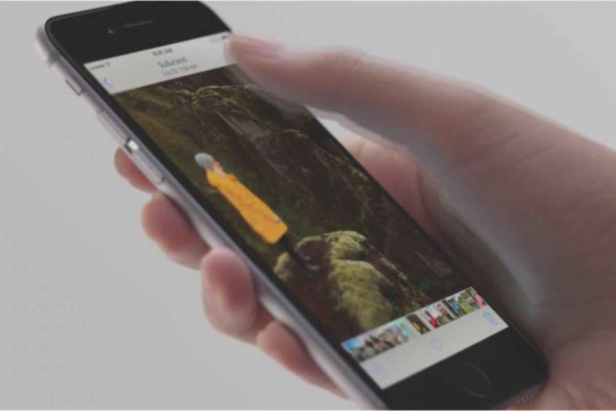 Fotos con esta característica. Foto:Apple