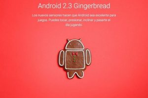 Android 2.3 Gingerbread Foto: Google
