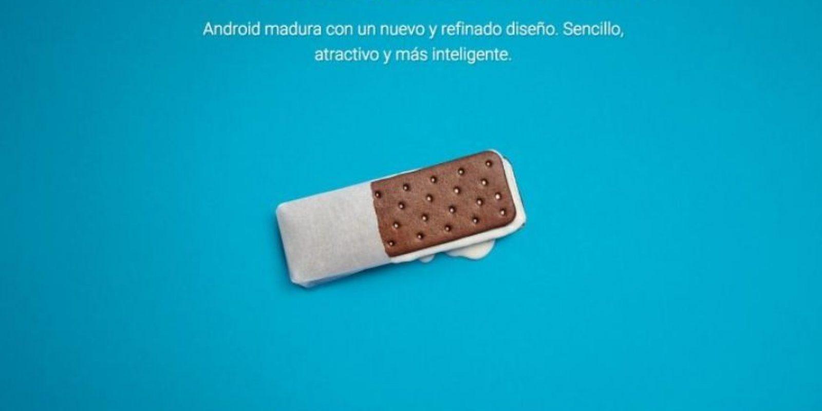Android 4.0 Ice Cream Sandwich Foto:Google