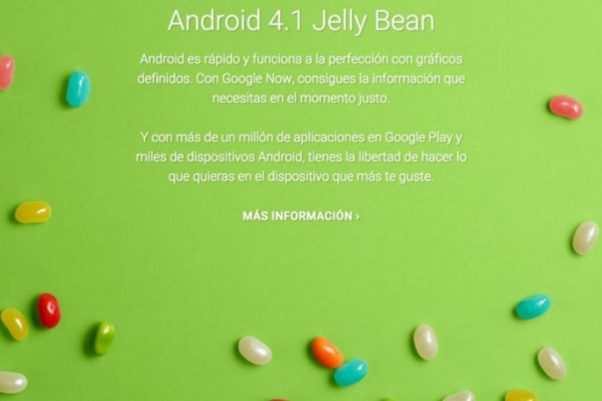Android 4.1 Jelly Bean Foto: Google