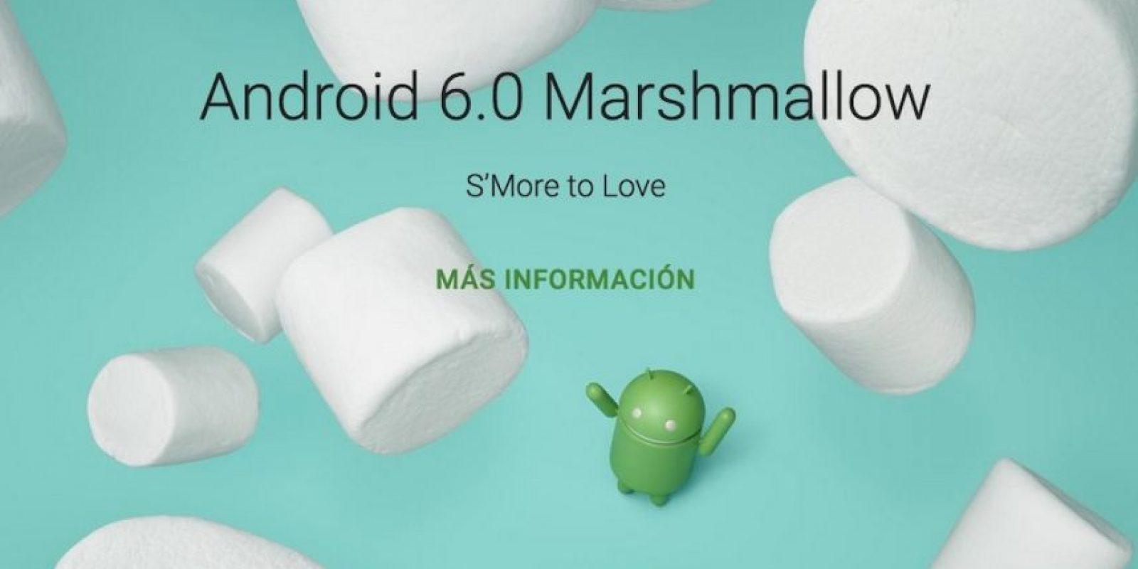 Android 6.0 Marshmallow ya está disponible en los dispositivos Nexus. Foto:Google
