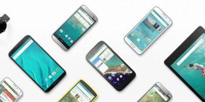 Dispositivos con Android 6.0 Foto:Google