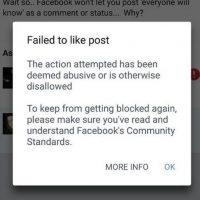 Facebook siente que lo están llenado de spam. Foto:vía techworm.net