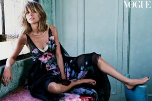 """Durante la entrevista, la cantante reveló el significado de la amistad. Foto:Revista """"Vogue"""""""
