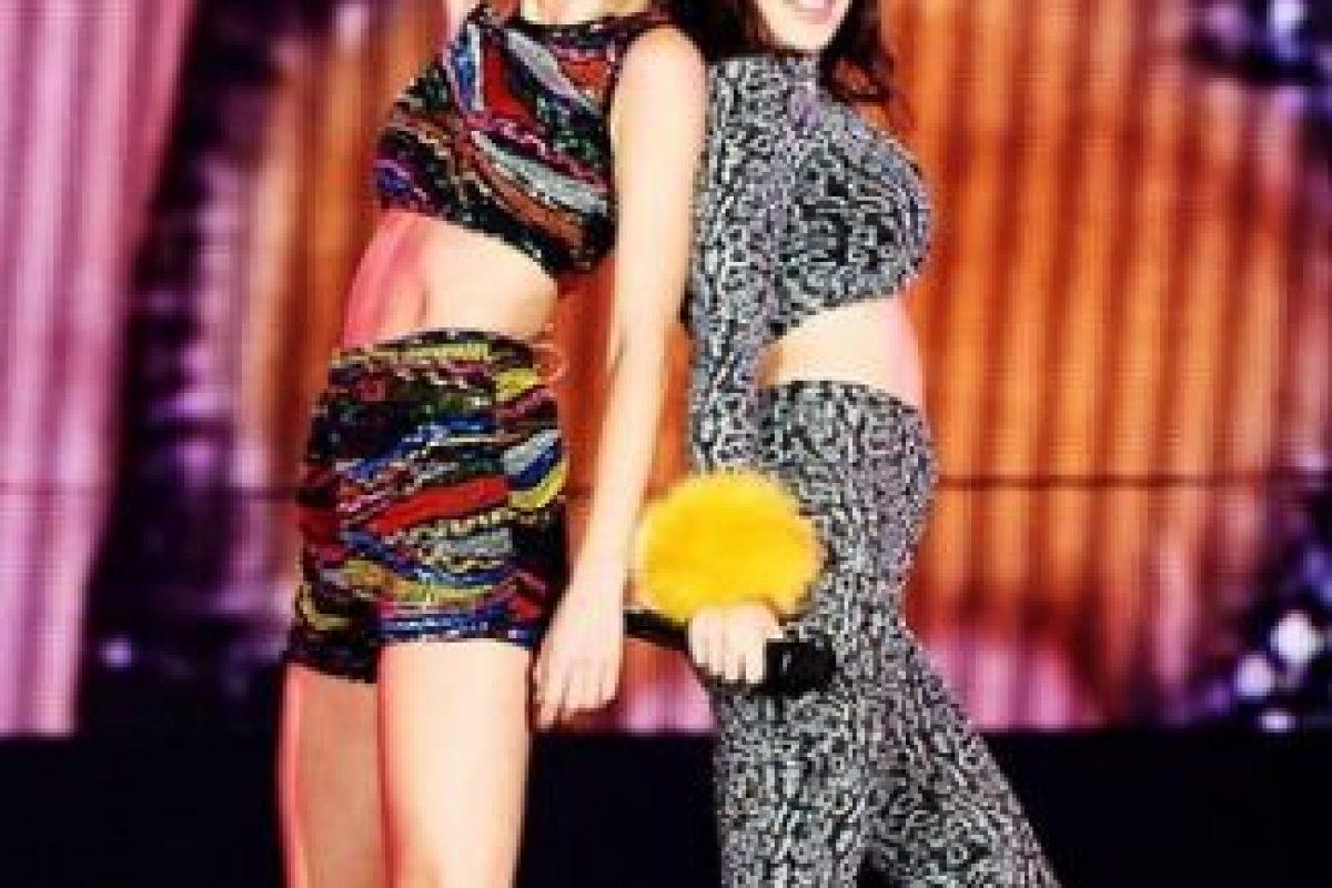 Taylor con Charli XCX Foto:Instagram/TaylorSwift