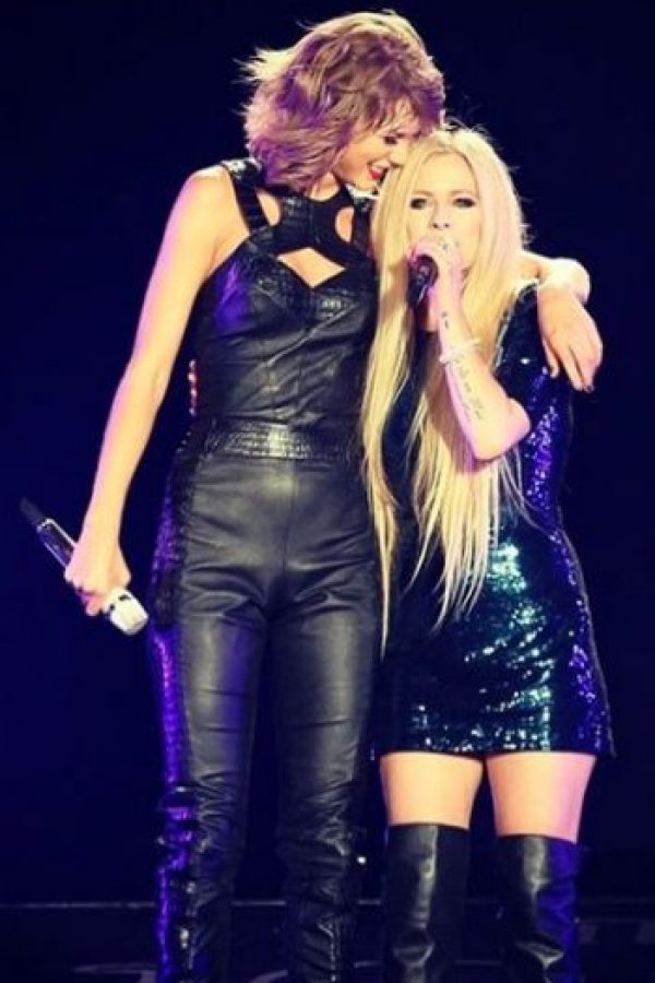 Taylor con Avril Lavigne Foto:Instagram/TaylorSwift