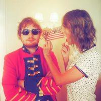 Taylor con Ed Sheeran Foto:Instagram/TaylorSwift