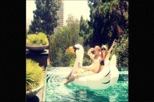 Pocas han sido las fotografías que la pareja ha compartido en sus redes sociales. Foto:Instagram/Taylor Swift
