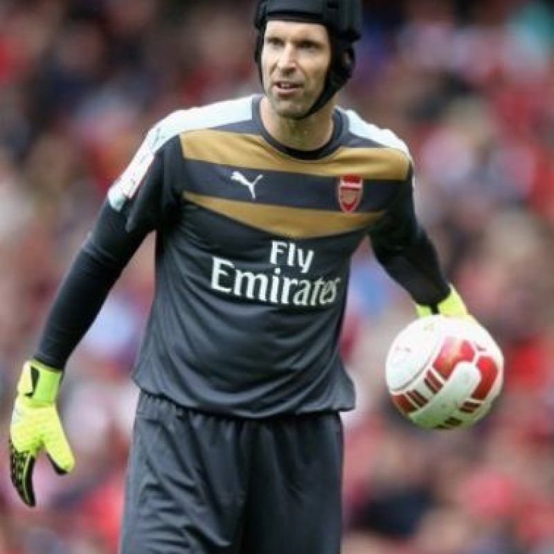 El portero checo juega en el Arsenal de Inglaterra. Foto:Getty Images