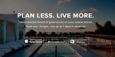 Ofertas de hoteles para esa misma noche. Foto:Hotel Tonigth
