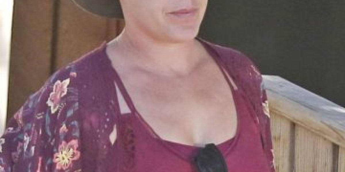 Fotos: El irreconocible rostro de Pink sin maquillaje