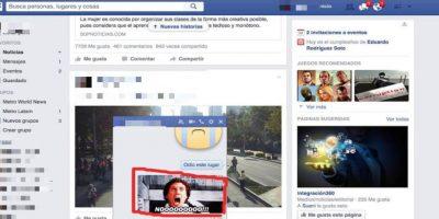 """¿Facebook está probando botón de GIF""""s en Messenger?"""