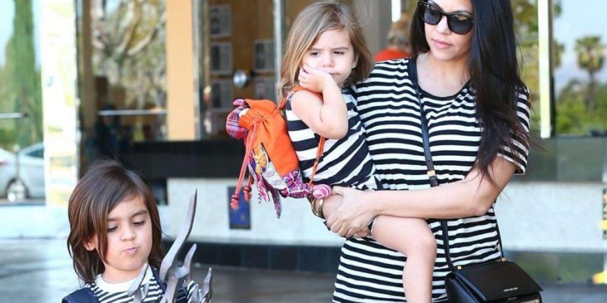 FOTOS. Así fue el duro golpe que recibió en la cara la hija de Kourtney Kardashian