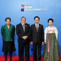 Es sucesora de Luiz Inácio Lula da Silva, también del Partido del Trabajo Foto:Getty Images