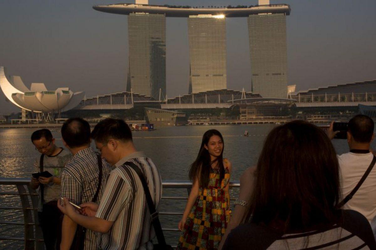 Todo ocurrió en el aeropuerto de Changi de Singapur. Foto:Getty Images