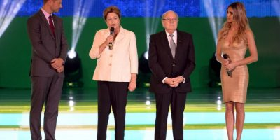 También fue Ministra de Minas y Energía con Lula da Silva Foto:Getty Images