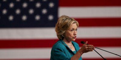 Según el orden de los precandidatos revelados por CNN, Clinton tendrá el podio principal. Foto:Getty Images