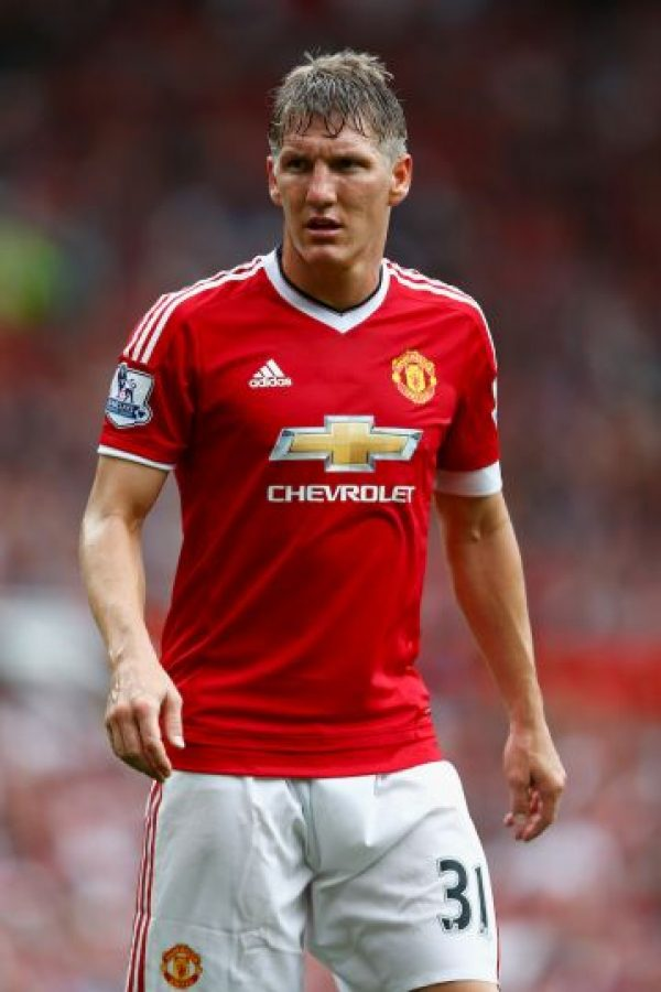 4. Bastian Schweinsteiger (Manchester United/Alemania) Foto: Getty Images