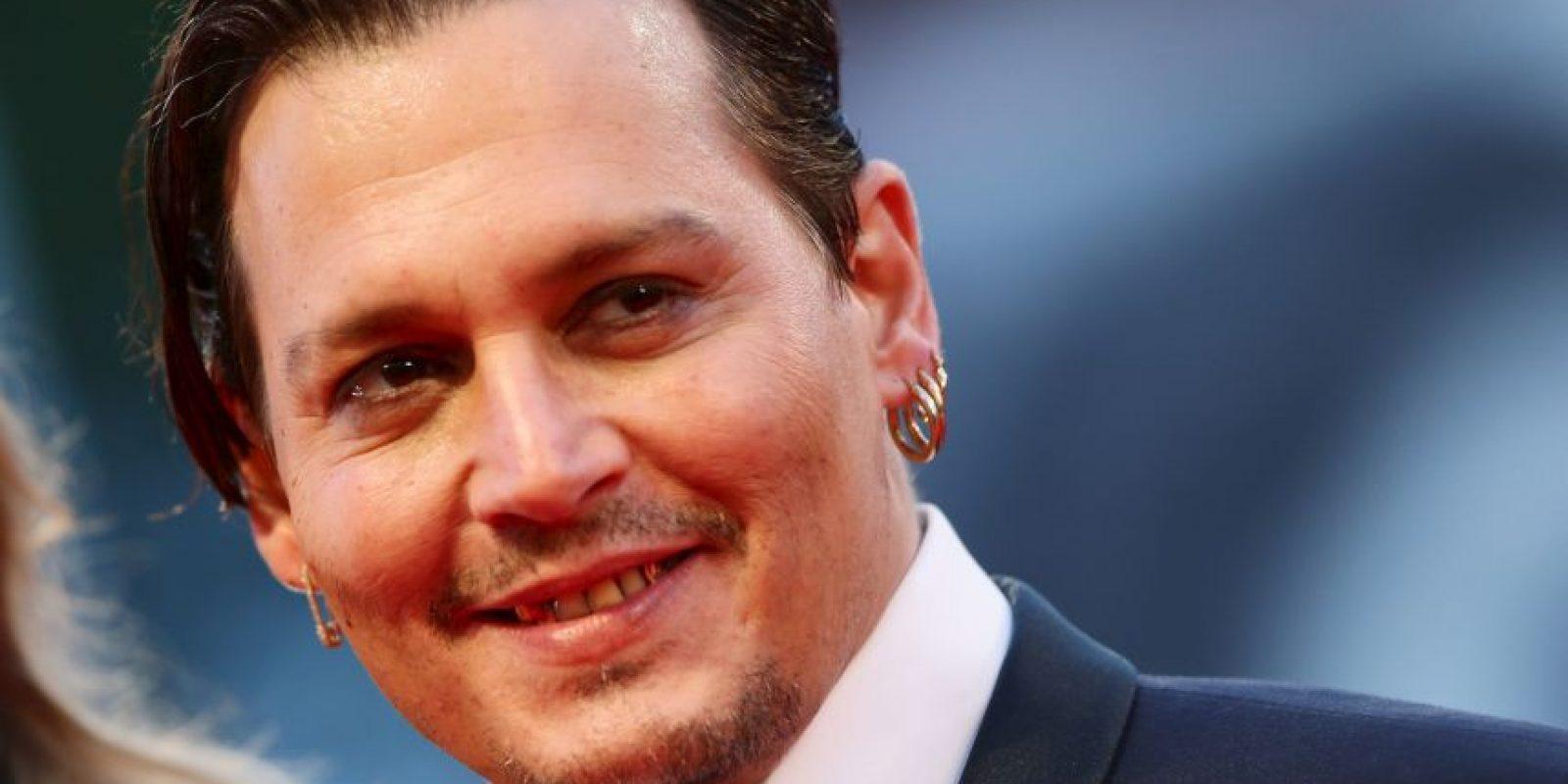 Antes de convertirse en un actor, Depp soñaba con ser una estrella de rock. Foto:Getty Images