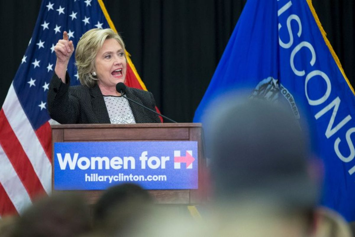 Hillary Clinton. Foto: Getty Images