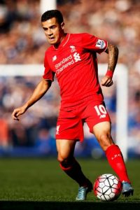 10. Philippe Coutinho (Liverpool/Brasil) Foto:Getty Images