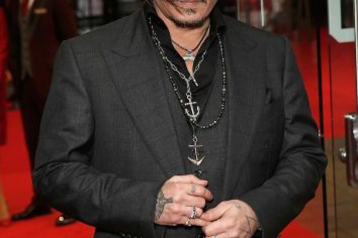 Johnny Depp varias veces ha admitido que no le gusta ver las películas que interpreta. Foto:Getty Images