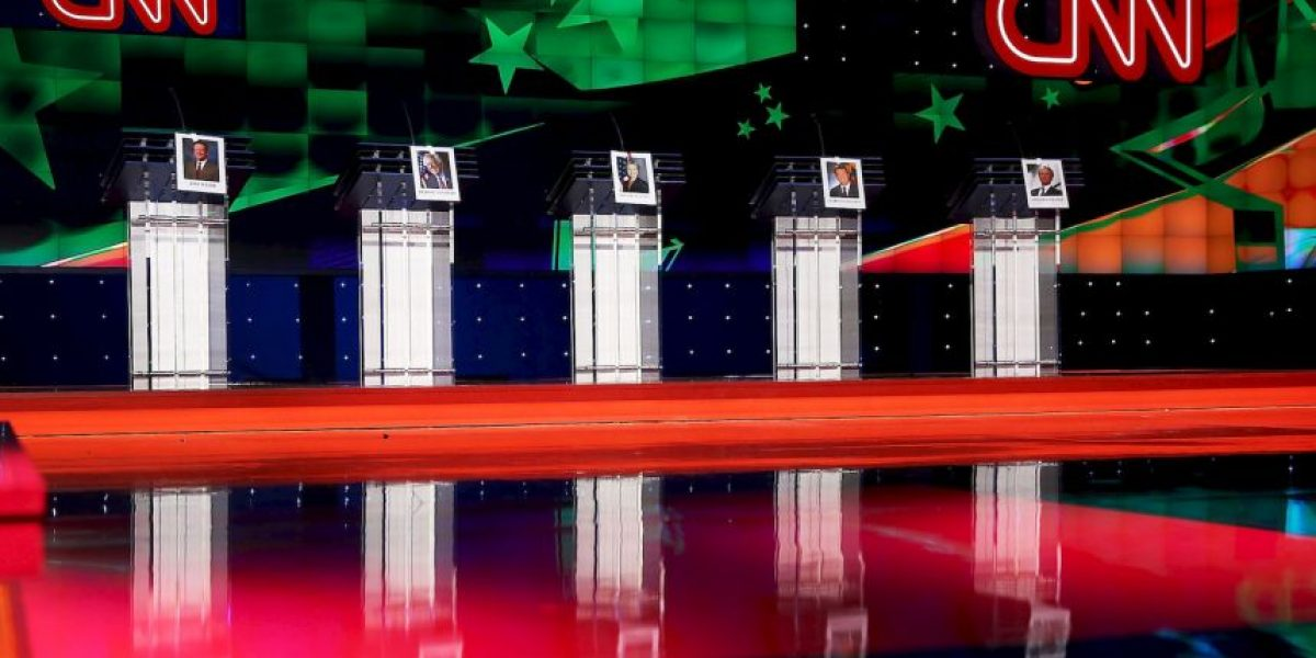 ¿Quiénes son los 5 precandidatos favoritos del Partido Demócrata?