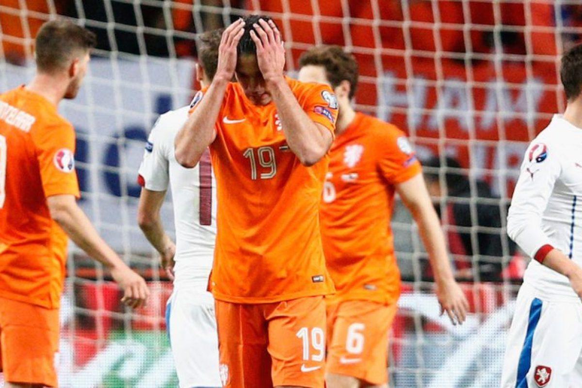 En julio de 2014, Louis Van Gaal dejó a la Selección Holandesa para entrenar al Manchester United. Foto:Getty Images