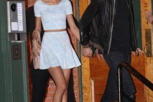 La relación entre Calvin y Taylor comenzó en el mes de febrero de este año Foto:Grosby Group