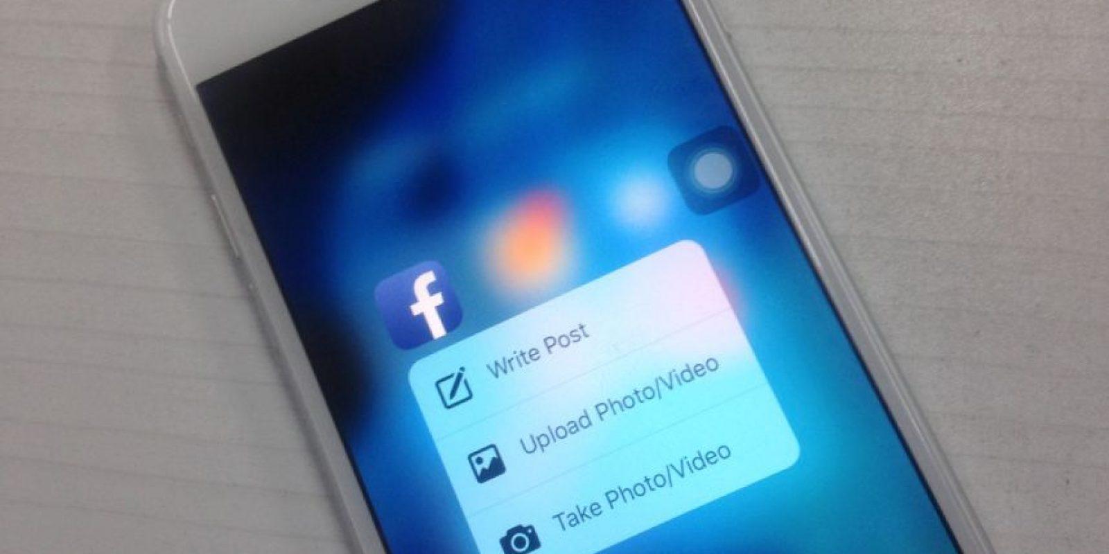 Los accesos directos de Facebook. Foto:Nicolás Corte / Especial