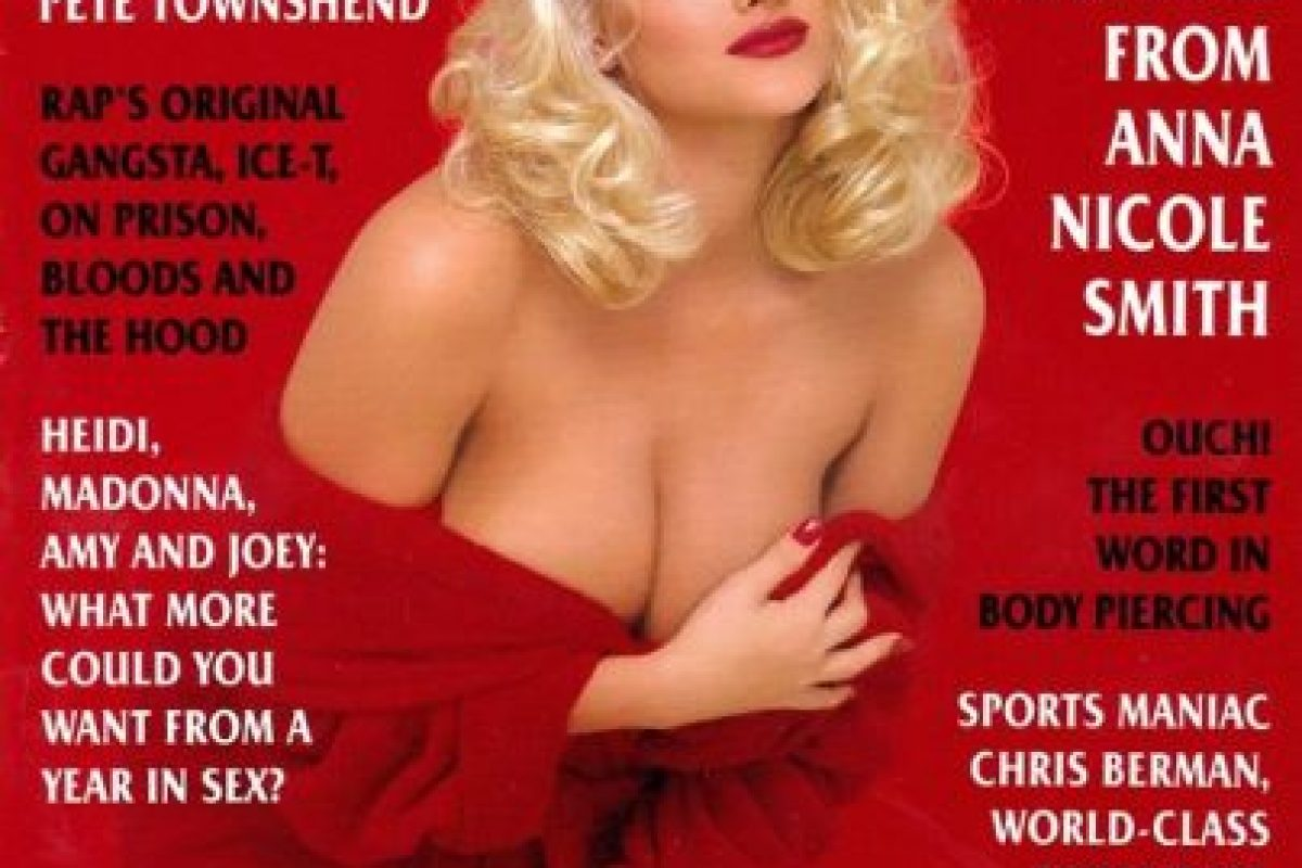 1994, Anna Nicole Smith Foto: Playboy