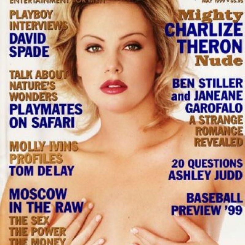 1999, Charlize Theron Foto:Playboy