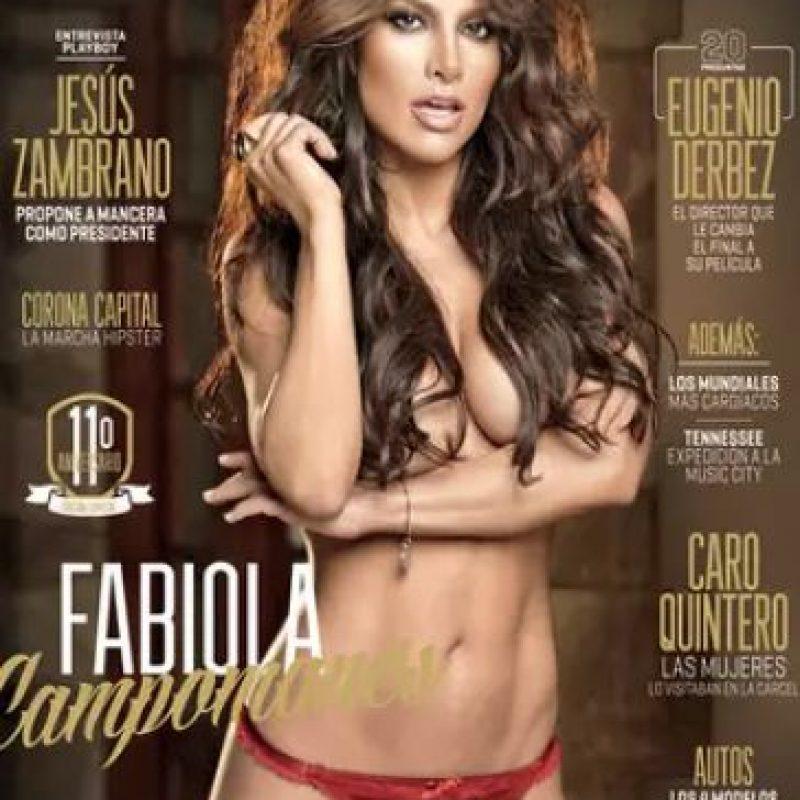 2013, Fabiola Campomanes Foto:Playboy