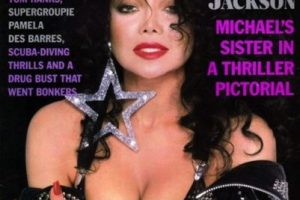 1989, La Toya Jackson Foto:Playboy