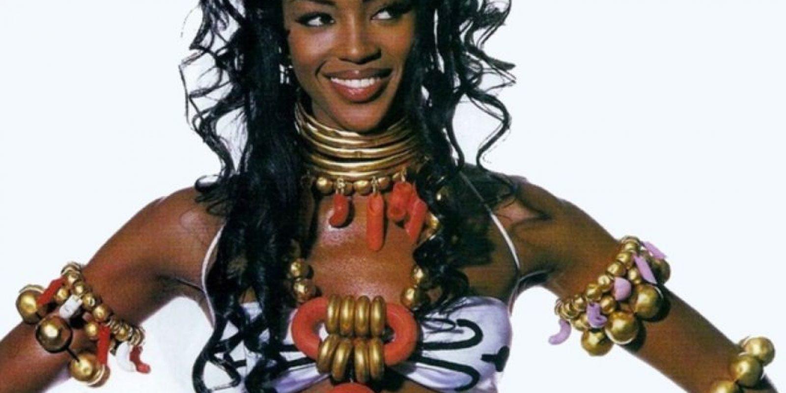 Así lucía Naomi Campbell a comienzos de los años 90. Foto:vía Vogue