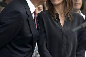 Se llama Malena Galmarini, y están casados desde 2001 Foto:AFP