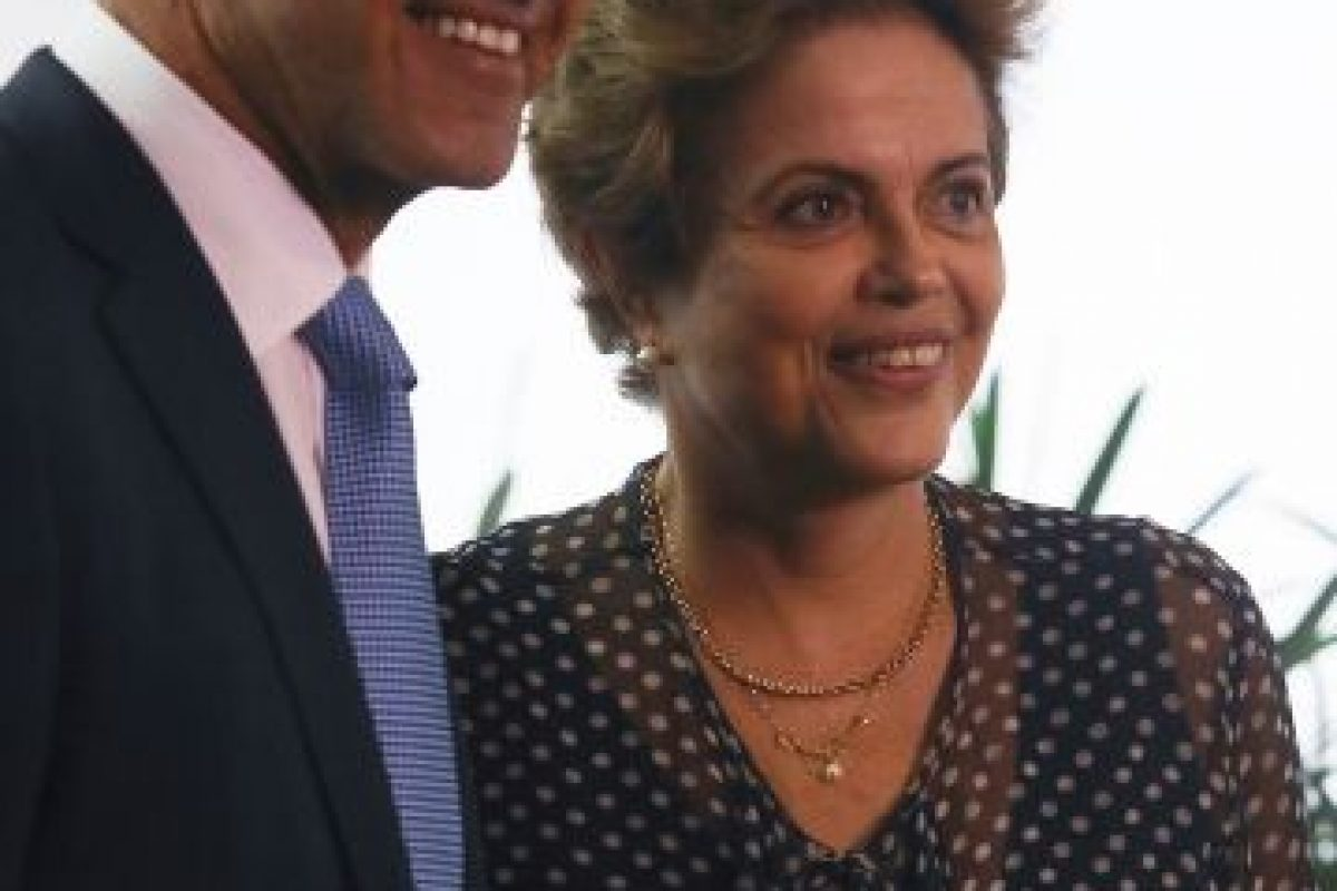 Ayer se reunió en Brasil con Dilma Rousseff, presidenta del país Foto:AFP
