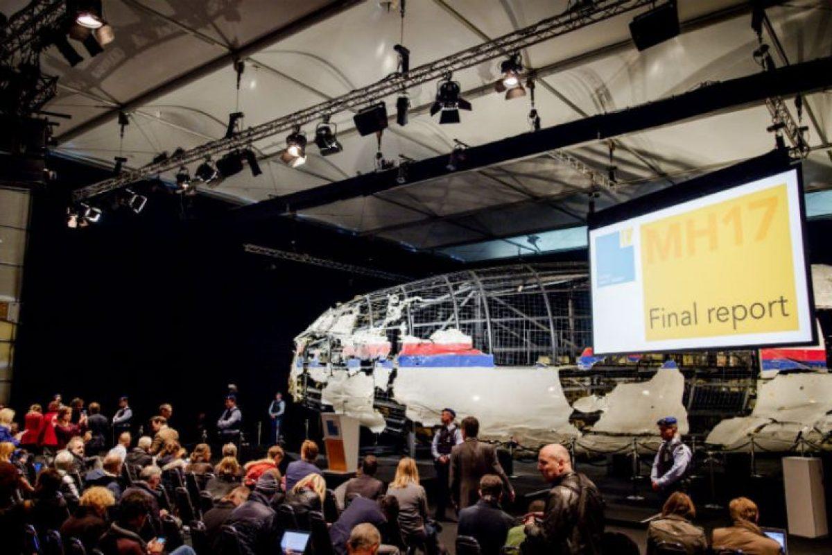 La investigación fue presentada por Tjiebbe Joustra, director del Consejo de Seguridad de Holanda. Foto:AFP