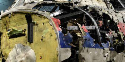 La investigación demostró que fue un misil el que causó el incidente Foto:AFP