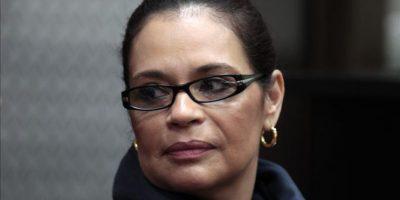Juez ordena que ex vicepresidenta Roxana Baldetti regrese a prisión