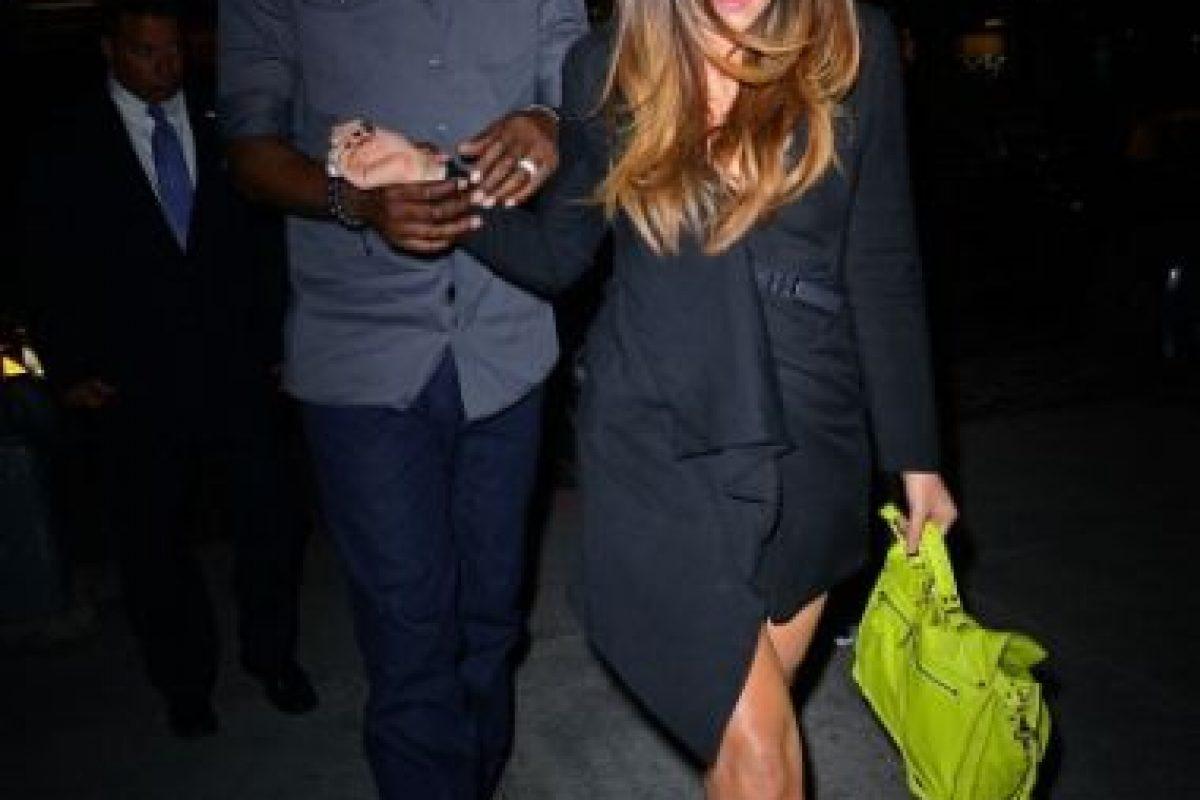 7. Acosó públicamente a Khloé Kardashian Foto:Getty Images