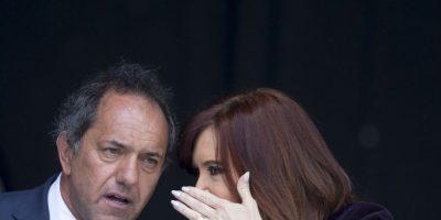 Scioli ha detallado que las discusiones entre los otros dos candidatos es inútil. Foto:AP