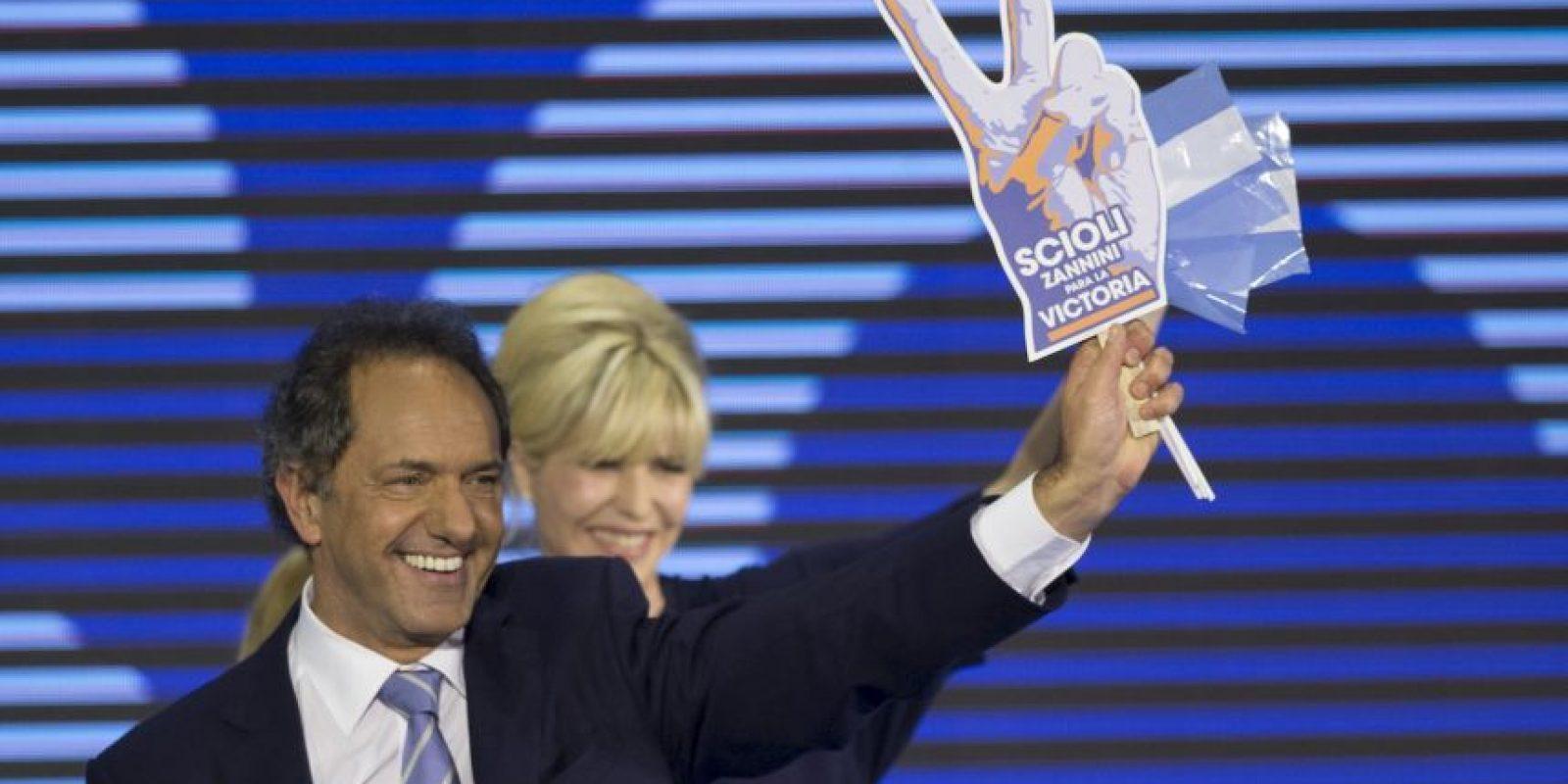 Daniel Scioli, gobernador de la provincia de Buenos Aires y ex vicepresidente de la Nación entre 2003 y 2007. Foto:AP