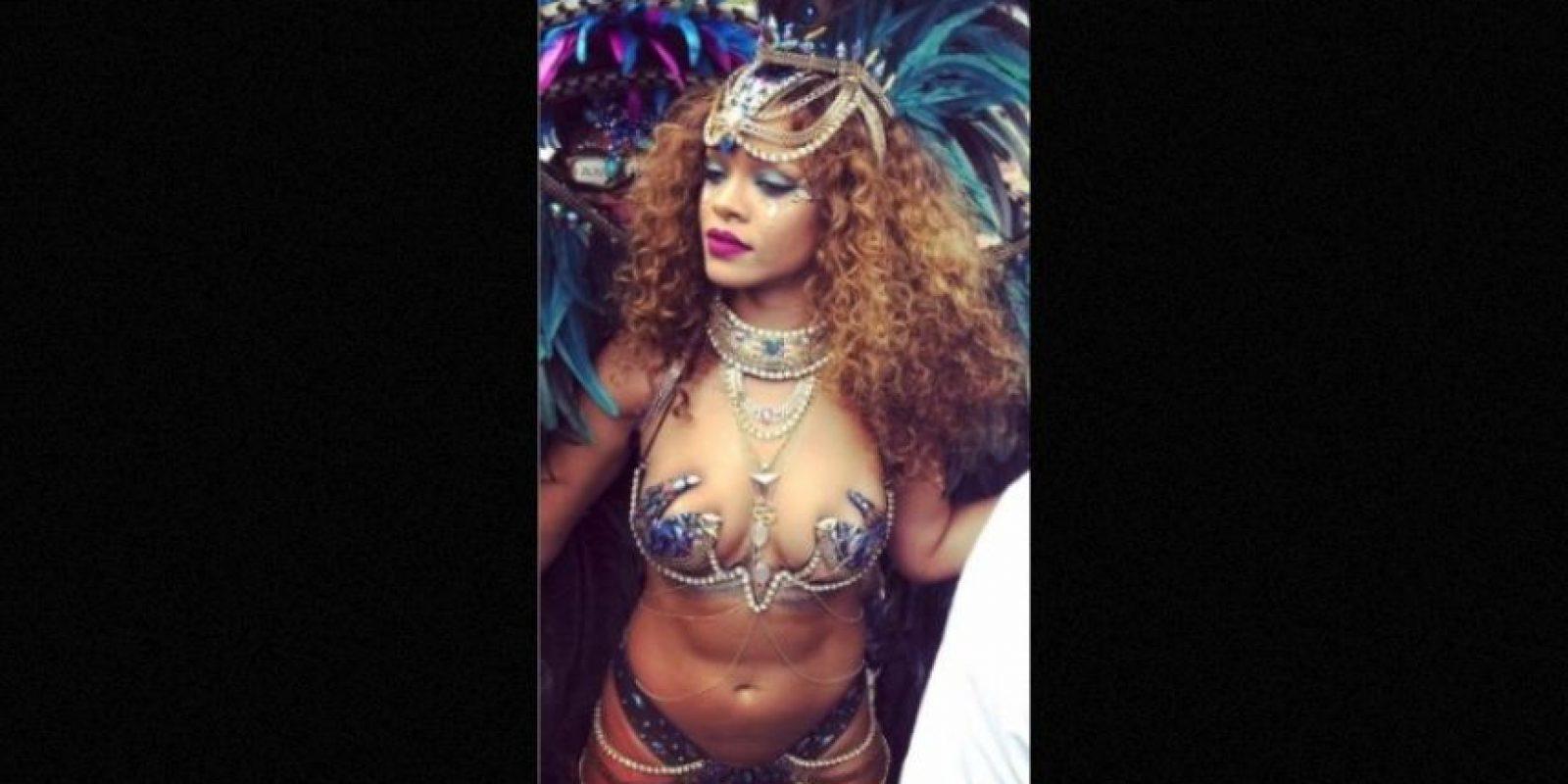 """En este momento de su vida """"no tiene tiempo para el amor"""" Foto:Instagram/Rihanna"""
