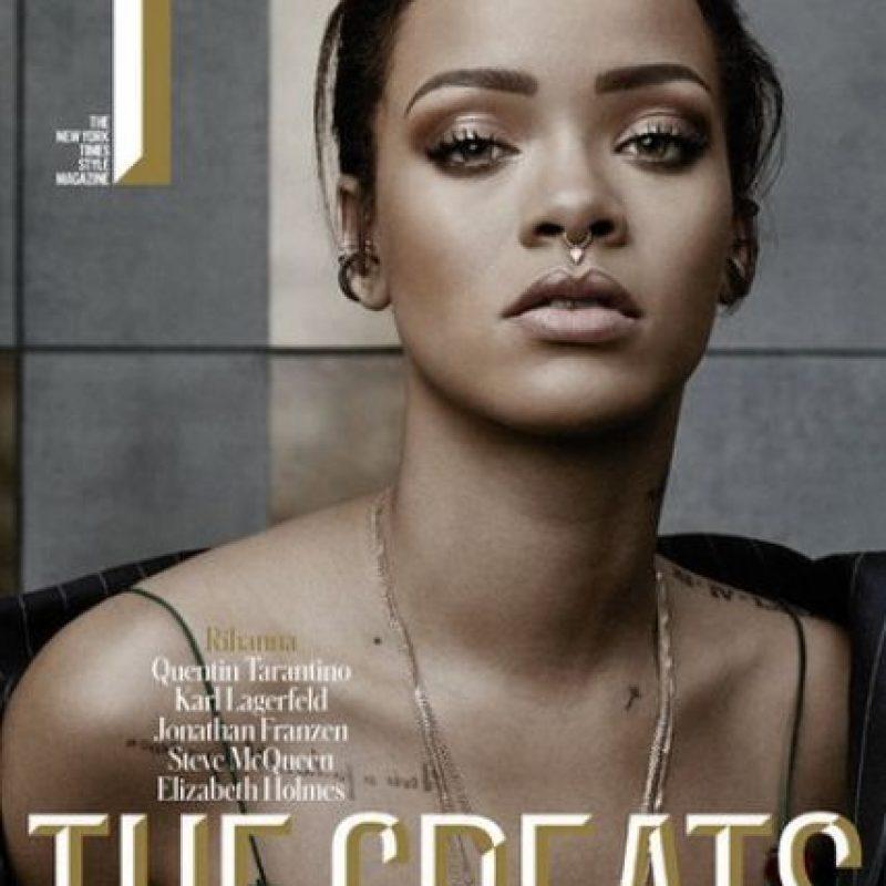 """Rihanna atraviesa por uno de los mejores momentos de su vida. Foto:Revista """"The New York Times Style Magazine"""""""