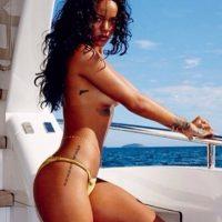 Y aclaró que no tiene sexo con el primer galán que se le presenta. Foto:Instagram/Rihanna