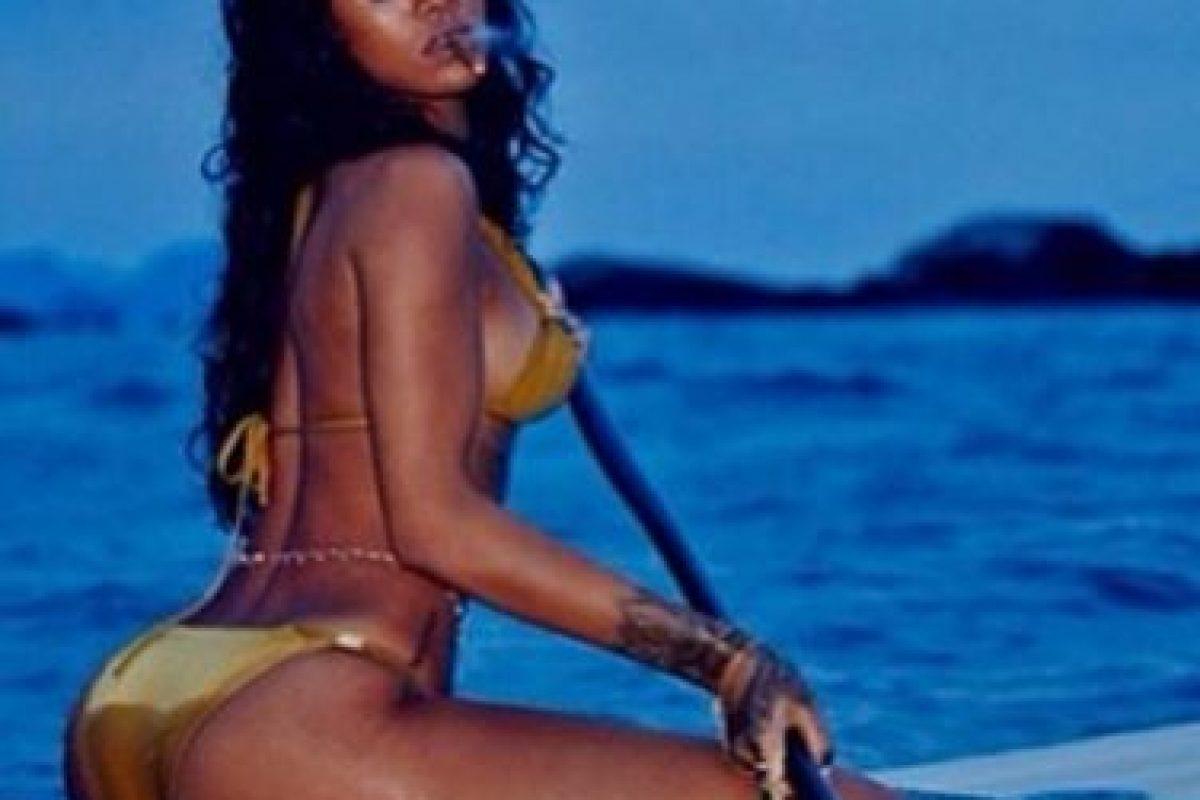 Además, reveló qué le excita de un hombre. Foto:Instagram/Rihanna